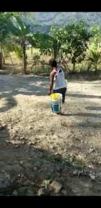 Kesulitan Air Bersih di Dusun Melokan Desa Kalidadap